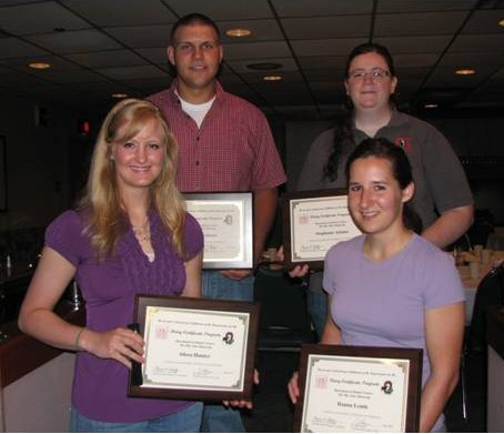 Dairy Certificate Graduates