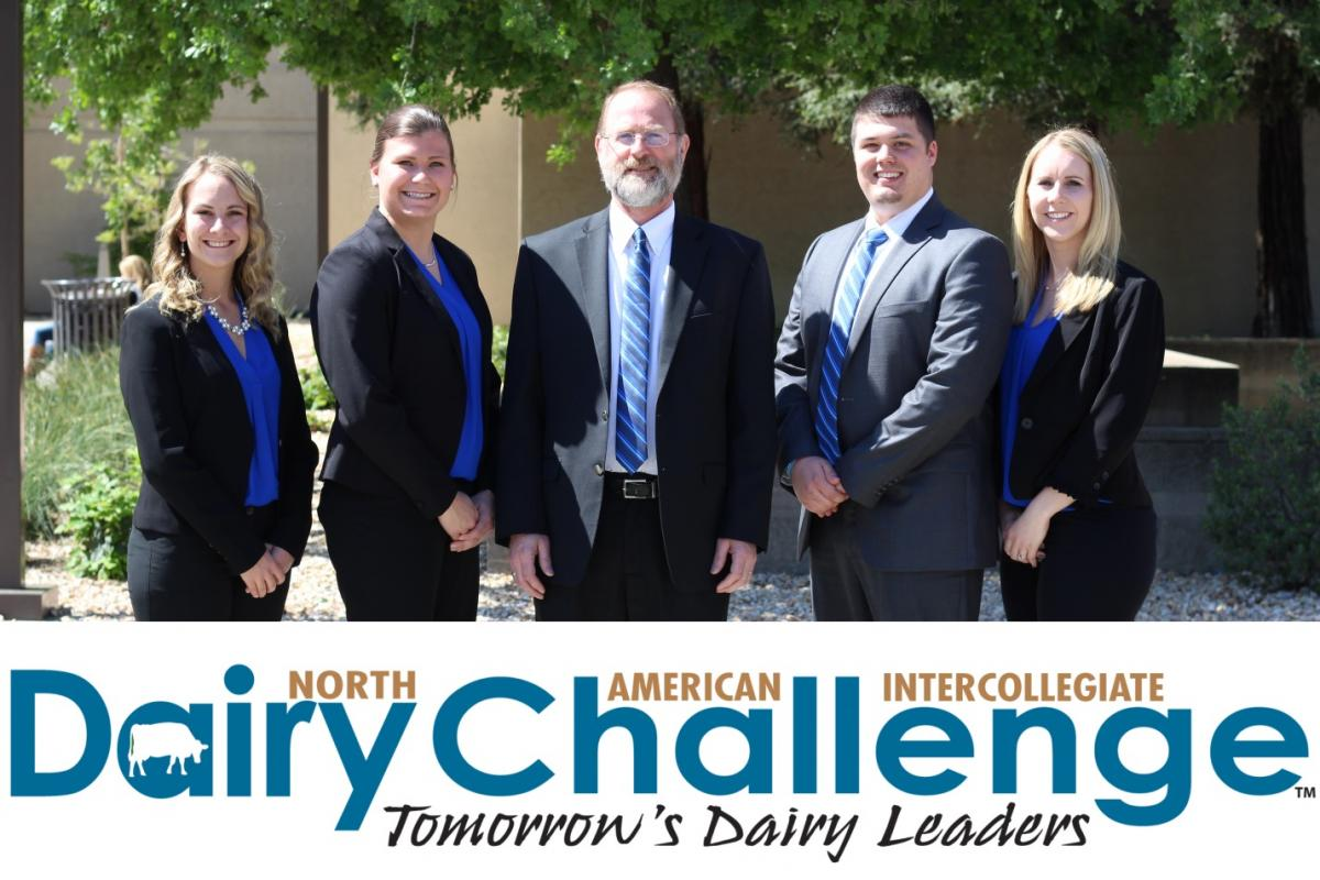 2017 Ohio State Dairy Challenge Team